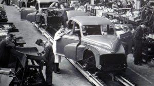Produktionshelfer Automobilindustrie